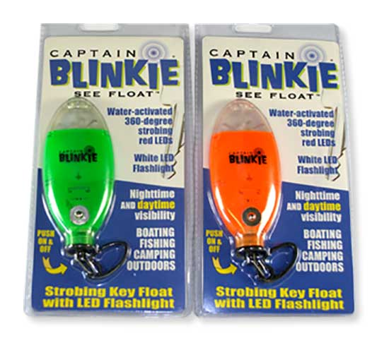 Captain Blinkie Key chain