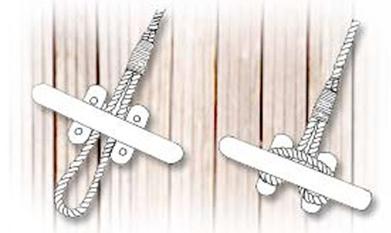 How To Tie Up - Top Knot Mooring Lines